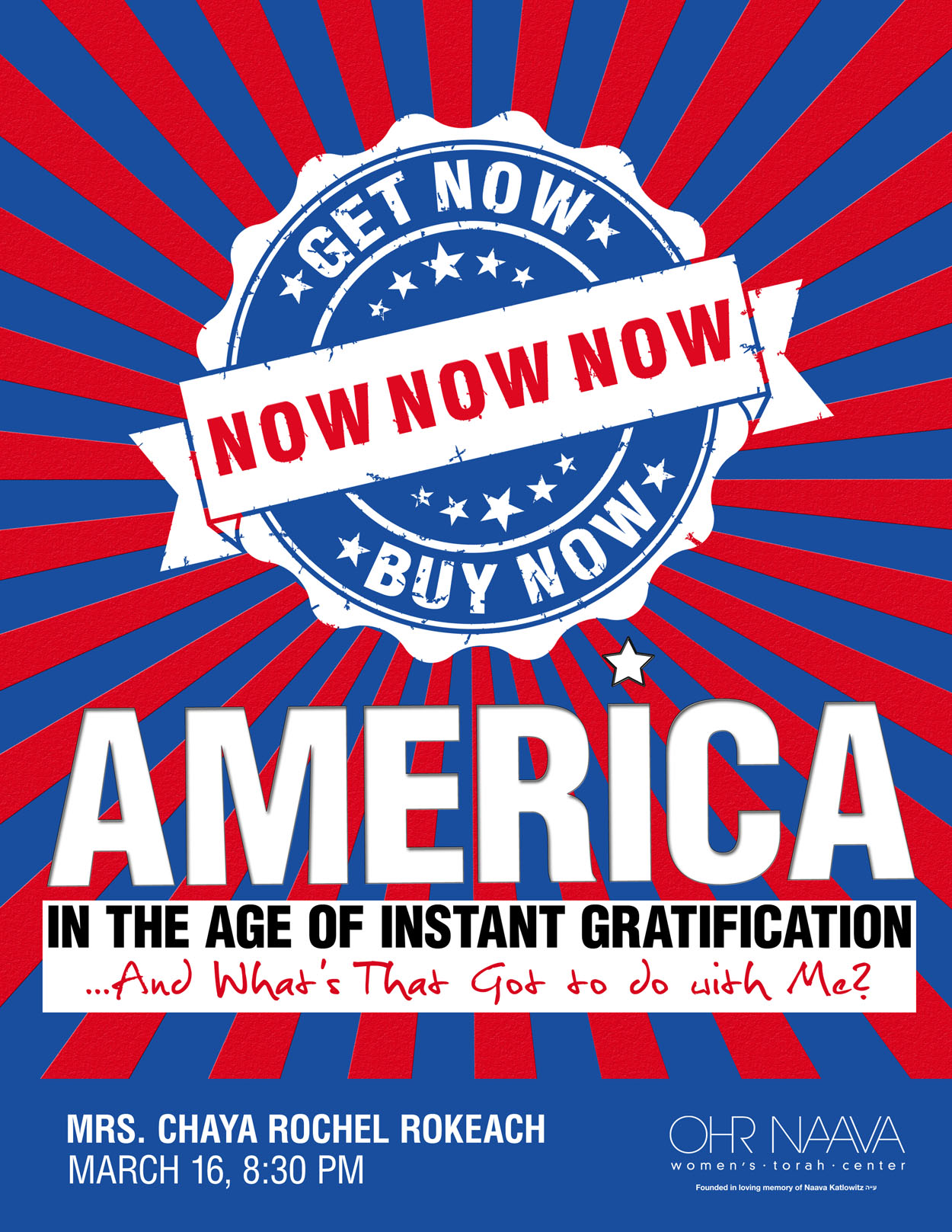 America: In the age of Instant Gratification